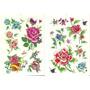 Kit Com 60 Tatuagens Temporária Flores Floral Frete Grátis