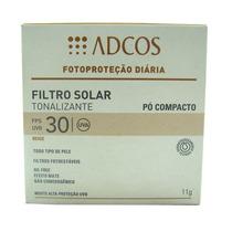 Filtro Solar Tonalizante Beige Fps 30 Pó Compacto Com 11g