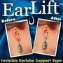 Ear Lift - Adesivo Sustenção Para Brinco Em Orelha Rasgada