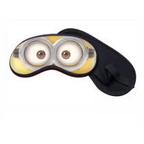 1 Máscara De Dormir Minions Tapa Olhos Viseira