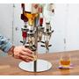 Bebidas-dispenser Dosador Giratório P/ 4 Garrafas