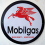 Placas Decorativas Mobilgas Posto Gasolina Antigo Vintage