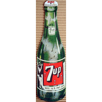 Placas Decorativas 7 Up Seven Up Refrigerante Classico
