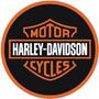 Placas Decorativas Harley Davidson Logo Classico Chopper