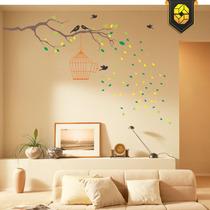 Adesivo Decorativo - Galho For Birds - Tamanho G