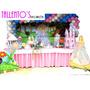 Decoração Festa Infantil Barbie Logo Dos Cisney (locação)