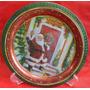 Prato Decorativo Metal - Santa Edwiges - Natal - A18