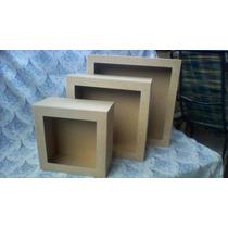 Trio Nicho Quadrado Mdf 12alt P 25x25 M 33x33 G 41x41