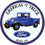 Placas Decorativas Pickup Ford Old Truck Hot Rod