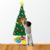 Adesivo Decorativo Árvore Natal Monte Do Seu Jeito