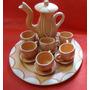 Conj De Chá - Decorativo - 14 Peças- Em Cerâmica- A10
