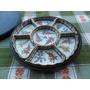 Conjunto Petisqueira Em Porcelana Chinesa Qianlong Nian Zhi
