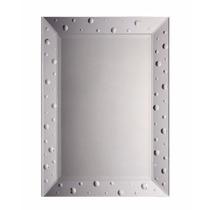 Espelho Bisote Para Salao De Beleza Moldura Retangular