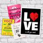 Quadros Frases De Amor, Inspirações, Retrô & Vintage