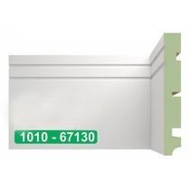 Rodapé Em Mdf Brasgroup Mod 1010 15cm Verde Ultra Madefibra