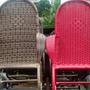 Cadeiras De Fibra Sinteticas Novas E Serviços De Reformas