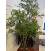 Planta Artificial-arranjo Pinheiro Estilé 1,30mt De Altura