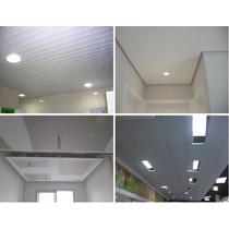 Pvc, Isopor, Gesso, Eucatex, Drywall Forros E Divisórias !!!