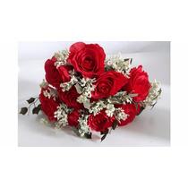 Buque Rosas Artificiais Decoração De Festas,casamentos,cores