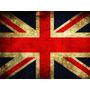 Placas Decorativas Bandeira Reino Unido England Inglaterra