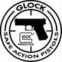Placas Decorativas Glock Arma Revolver Pistola Gun