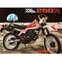 Placas Decorativas Honda Xl 250 Trilha Motocross Propaganda