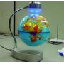Globo Terrestre Flutuante Para Decoração - Magnético