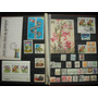 Coleção 330 Selos - Brasil - Quadras, Blocos E Diversos