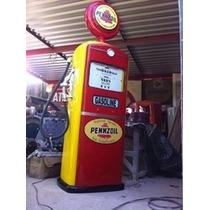 Bomba De Gasolina Antiga Bennett (réplica)