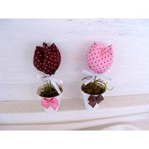 10 Tulipas Vasinho Lembrancinha Maternidade Nascimento Chá