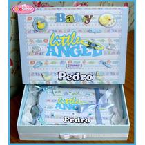 Álbum De Fotos Bebê Menino C/ Caixa Personalizada (2)