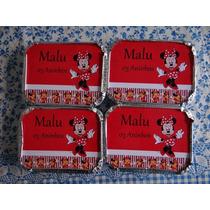 Kit Lembrancinhas Marmitinha+tubetes+latinhas Personalizados