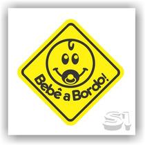 Adesivo Bebê A Bordo! /segurança /família /carros /2 Cores