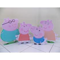 Kit Display/totem De Chão Peppa Pig - Kit Com 4 Unidades