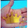Coroa Princesa Extra Grande 7cm Scrap Festa Principe / Rei