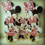 Kit Display De Chão E De Mesa Minnie - Kit Com 5 Unidades