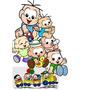 Display Decoração Festa Infantil Cebolinha Baby