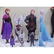 Cenário Display Frozen - Display De Mesa E De Chão - 8 Peças