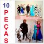 Kit Cenário Display De Chão Frozen Com 10 Peças!!!