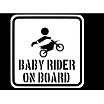 Adesivo Bebê A Bordo Criança Infantil Carro Berço Baby-01