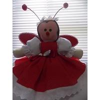 Bailarinas,bonecas De Pano,decoração,festas, Buffet,joaninha