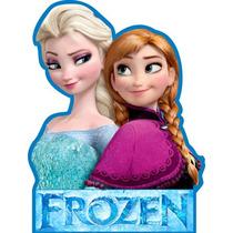 28 Display Mdf Frozen Decoração Festa Infantil Só **4,80un**