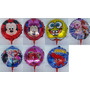 20 Balões, Frozen Mickey Minnie Moranguinho Homem Aranha