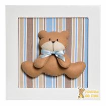 Quadro Enfeite Decorativo Quarto Bebê Infantil Urso Ursinho