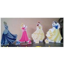 Kit Display De Chão Princesas Disney 8 Peças