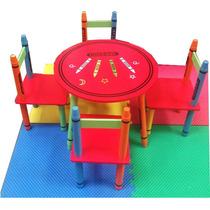 Mesinha E Cadeiras Infantil Mesa Para Quarto De Criança
