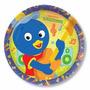 Prato Aniversário Festa Infantil Backyardigans 16un