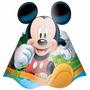 Chapéu De Aniversário Festa Infantil Mickey 16 Uni
