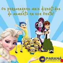 Painel Decorativo Festa Infantil Lona Banner Princesas Ben10