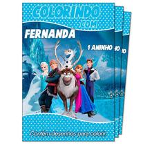 100 Revistas Personalizadas De Colorir Lembrança Aniversario